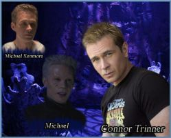 Wraith and actors. (Connor Trinneer) by tatyankaWraith