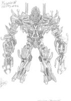 Transformers Decepticons: Megatron by KKriptor