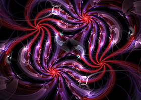 redviolet swirls by Andrea1981G
