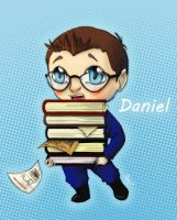 Daniel Jackson loves books by citrouille23