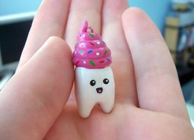 Sweet Tooth Charm by Kelzky