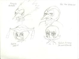 Birthclod Twins , Judia , and Guluve by peridive78