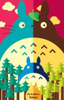 My Neighbour Totoro Poster by FantasySystem