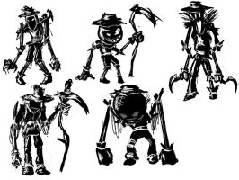 Scarecrow thumbnails by GianClaudio