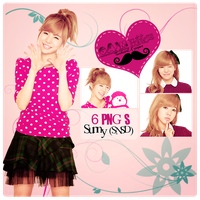 Pack PNG Sunny (SNSD) by GAJMEditions