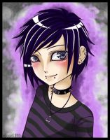 . + Emo-Kid + . by eserioart