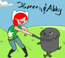 Adventure Time with Tammy and Abby by 1NarutoFreak