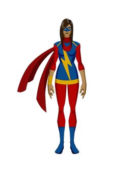 Miss Marvel(Kamala Khan-Marvel now) by LukBR