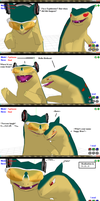 I'm a Typhlosion?! D8 by ChrisTheDragoon
