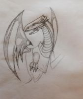 Blue Eyes White Dragon ( NOT FINISHED ) by DrCrazyWolf