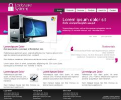 Lockware Systems Design Mock1 by datamouse