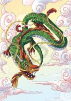 Asian Dragon by tikopets