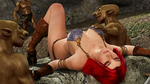 RED SONJA: Green Plague by Furbs3D