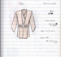 jedi tunic by theclothmaster87