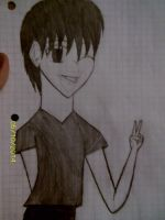 Me in my Anime Boy Form by Kogalover4ever