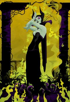 maleficent by stuntkid