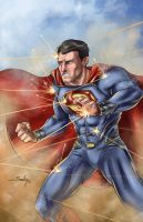 Man of Steel by SachaLefebvre