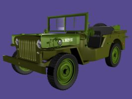 WILLY JEEP BLENDER MODEL by timzero4