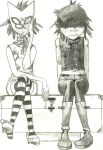 Noodle and Cyborg by ZombieCatcher253