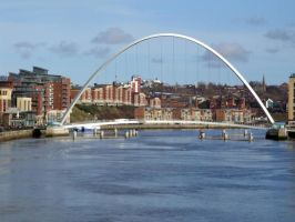 Newcastle Quayside 1 by TimeWizardStock
