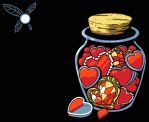 Collecting Your Jar of Heart Containers by MeteoDesigns