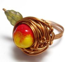 Custom Gathering Apples Ring by sojourncuriosities
