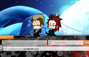 Axel and Demxy Shimeji by xXShikaChanXx