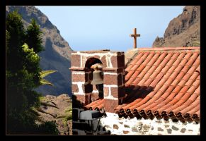 In The Mountains Of Tenerife Island by skarzynscy