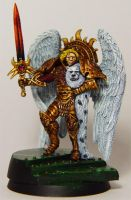 Sanguinius, father of angels by cyphercodicer2