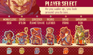 Player Select 2: The Sequeling by zeratanus