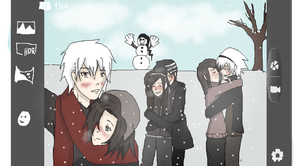 Soul Eater - Winter date for six by XHanna-chanX