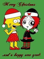 Lisa and Ruby Christmas by broad86new