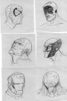 Post It Sketches by RadPencils