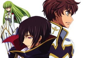 Code Geass Render 1 by xDreamerRoxasx
