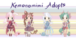 Moshies Adopts Auction [CLOSED] by Me2Unique