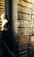 The Bust's Library by THEIROLIA