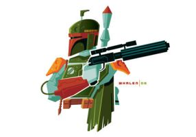 boba fett minibust by strongstuff