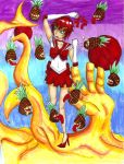 Sailor Gaara vs pineapples by kittygoth1