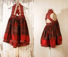 Babydoll dress Russian dress by Mynoush