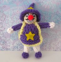 Horror Land Wizard Wario Plush by MadameWario