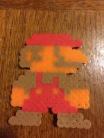 Small Mario SMB1 Sprite Perler Beads by UltimateGengar