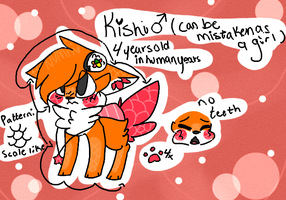 Kishi Reference Sheet 2014 by snickIett