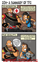 A summary of TF2 by BrokenTeapot