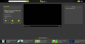 Yuzz Streaming Service Mock-Up by H20DDs