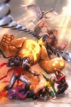 Age of Apocalypse #5 by AlexGarner
