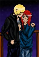 mortals instrument Jace and Clary by superjacqui