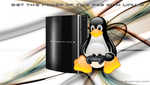 PS3's Linux Wallpaper by Skatox