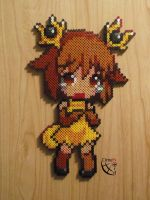 Stantler Moemon Perler Beads by Cimenord