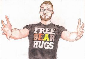Free Bear Hugs by JoeBear13