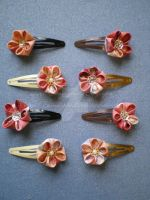 Cherry Blossom Clips by Corselia